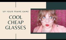 You're going to FLIP for this Unique Glasses Try On Haul with Voogueme #ad