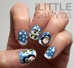 http://thelittlecanvas.blogspot.com/2013/01/polar-bear-and-penguin-nail-art.html