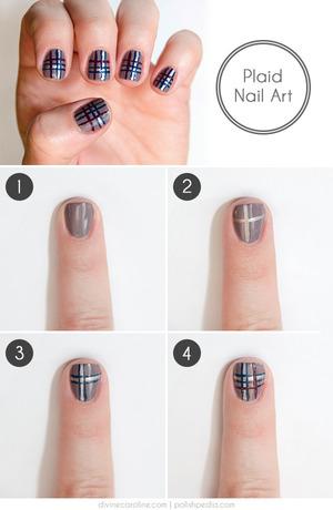 http://www.divinecaroline.com/beauty/nails/easy-plaid-nail-art-how