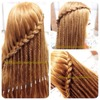 Lace Braid with the Braided Waterfall