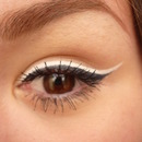 Double black&white eyeliner