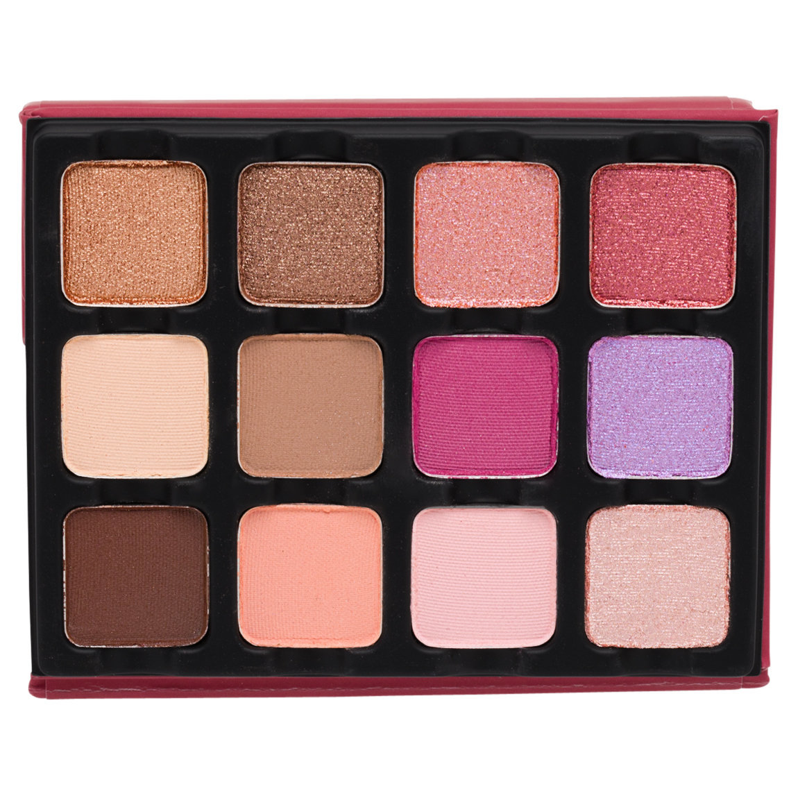 Viseart Rosé EDIT Eye Shadow Palette product smear.