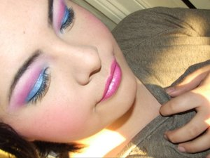 "Katy perry ""last friday night t.g.i.f"" inspired make-up"