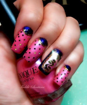 VENIQUE NAIL POLISH : PUMP UP THE THE JAM AND WRAPPED IN JEWELS