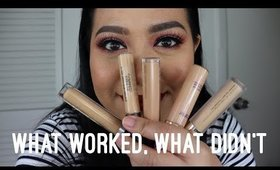 5 Concealers  What worked, what didn't.