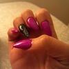 My pointy nails