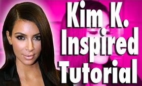 Get the Look Kim Kardashian Smokey Eye Tutorial