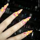 Fruit Cocktail Nails
