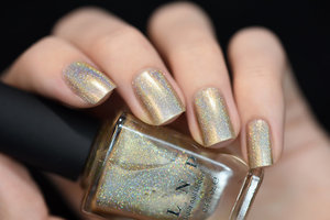 I See You is a gorgeous yet delicate champagne toned Ultra Holo nail polish that's truly magical. Wearable with anything!  ILNP.com