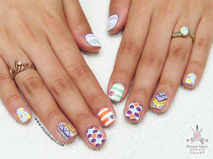 Click the link for more pics! http://pinkiegrey.com/post/44331940710/pastel-prints-this-post-is-gonna-be-bit