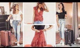 TRAVEL CLOTHING SWAP Transformation w/  FASHIONBYALLY + ANN LE