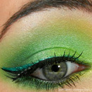 Absinthe/ Green Fairy look with BFTE Cosmetics