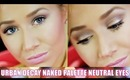 Urban Decay Naked Palette | Easy Neutral Eyes Tutorial