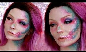 Constellation Skull Makeup | Lithunium Snow Inspired