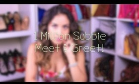 1 Million Subbie Party and Meet & Greet