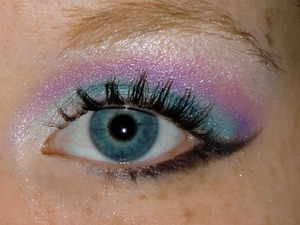 Watched a tutorial and made it my own. Came out perfect in my opinion. ♥