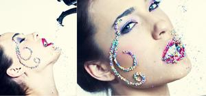Photog: Mark Sachet  Model: Erica @Leighton Agency   Candy design created by me :)