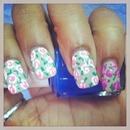 Spring inspired floral pattern