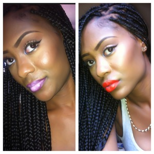 Didn't know what lip to do but ended with my newest fav Lady Danger by MAC