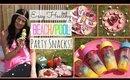 Healthy Beach/Pool Party Snack Ideas!