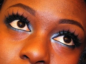 This look created with colors from my Urban Decay loves NYC Palette.