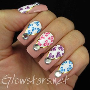 Read the blog post at http://glowstars.net/lacquer-obsession/2014/09/dotty-florals/