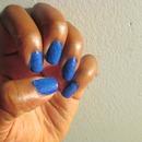 Blue Velvet Nails Manicure