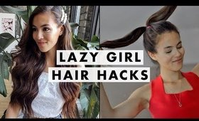 7 Lazy Girl Hair Hacks You Need In Your Routine