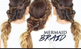Pretty Mermaid Hair -  BRAIDS in BRAID Tutorial   Cute Fall Hairstyles