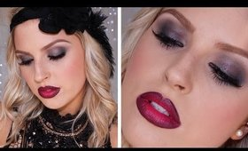 Roaring 1920's Inspired Makeup ♡ Great Gatsby, Flapper Costume Makeup!