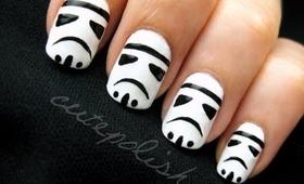 Stormtrooper Nails (feat. Darth Vader)