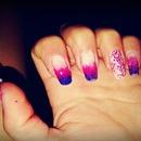 Gradient Blue & Pink