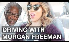 VLOG: DRIVING WITH MORGAN FREEMAN? | yummiebitez