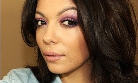 Spring Makeup Tutorial : ♡ Purple and Pink
