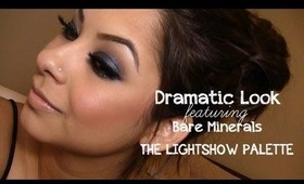 Tutorial: Dramatic Look Ft. Bare Minerals Light Show Palette