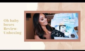 ♡ OH BABY BOXES UNBOXING! - My First Pregnancy Subscription Box!