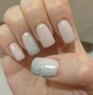shiny and classy nails