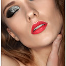Makeup Tutorial-Glitter Smokey Eye