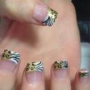 Leopard & zebra tips