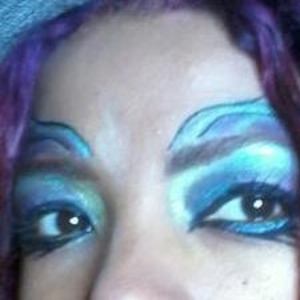 I created this look for Halloween..