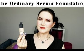 The Ordinary Serum Foundation Review + Wear Test Shade 1 NS | Cruelty Free & Vegan