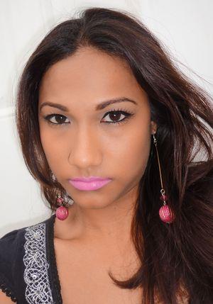 NYX Matte lipstick in Summer Breeze. For more info: http://www.chinadolltt.blogspot.com/2012/04/feel-summer-breeze-nyx-matte-lipstick.html