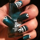 Eye of Ra nails