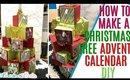 DIY Chritsmas Tree Calendar, How to make a Christmas Tree Advent Calendar SVG