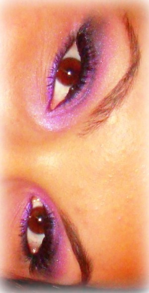 Pinky Purple Eye