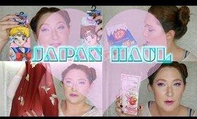 JAPAN HAUL!! (Sailor Moon Cosmetics, Kimono's, Kit Kat & Toys)