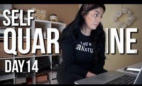 Self Quarantined Day 14 Vlog : Single Mom Life