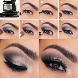using Lancome, more details on my blog: http://www.maryammaquillage.com/2013/05/feline-fatale-classic-smokey-eye.html