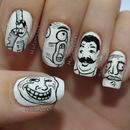 Meme nail art