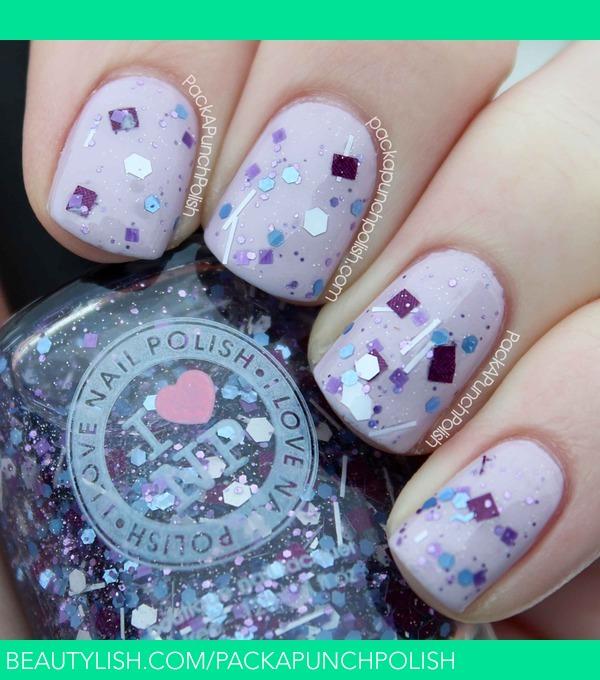 Nail Polish Arti Indonesia: Purple Stuff By I Love Nail Polish